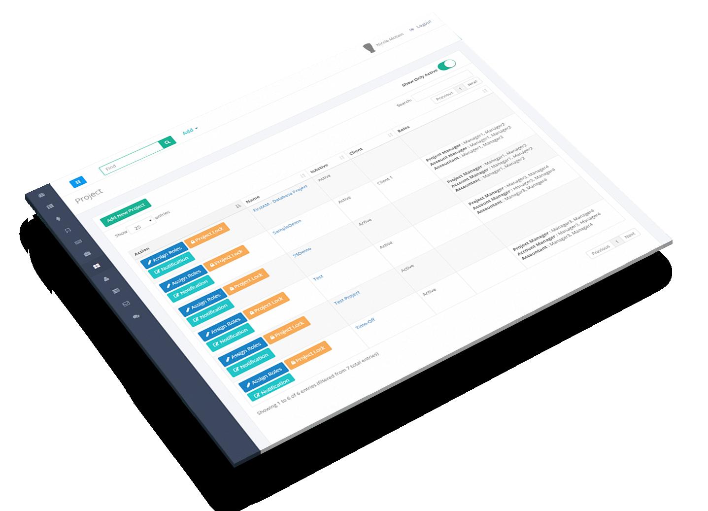 SandStar - Single Window Management System for Staffing